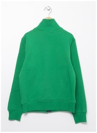 Benetton Benetton 322113J68C5196 Pamuklu  Erkek Çocuk Sweatshirt Yeşil